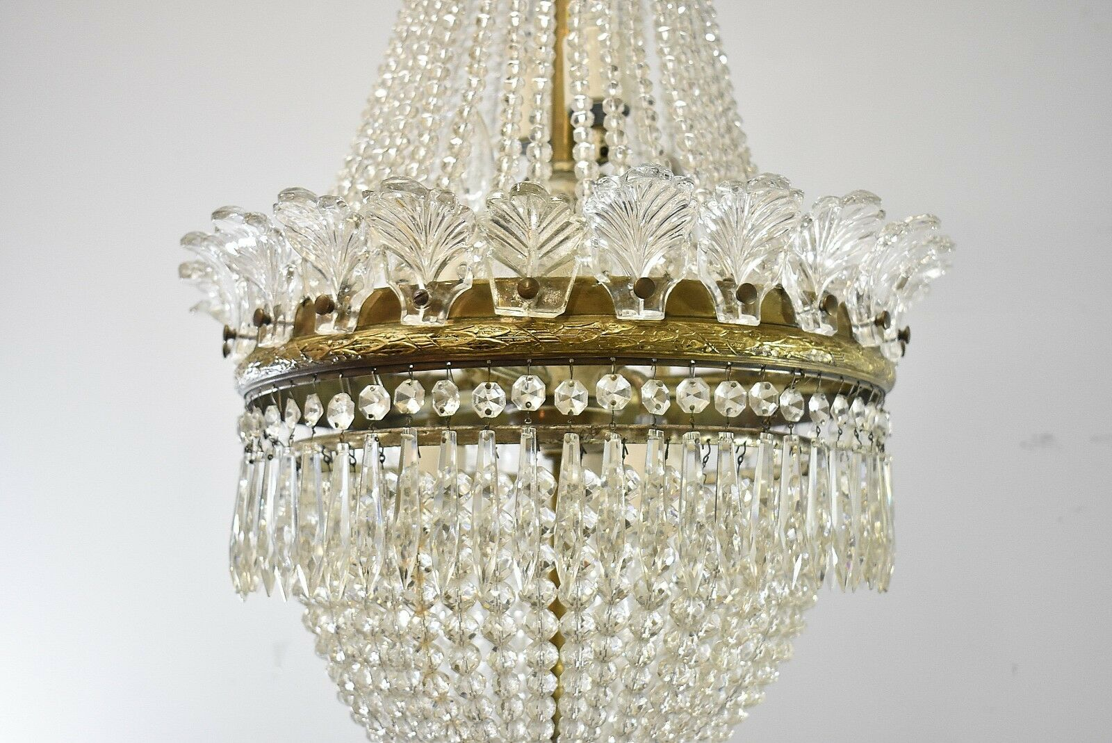 Antique french style crystal chandelier light fixture with bronze antique french style crystal chandelier light fixture with aloadofball