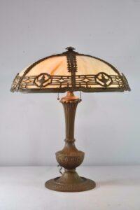 Antique-Caramel-Bent-Slag-Glass-Panel-Table-By-Miller-242-263389311061-2