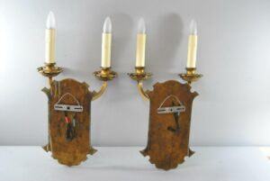 PAIR-OF-LARGE-SCALE-GOTHIC-REVIVAL-2-SOCKET-WALL-SCONCES-191751330641-6