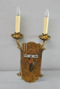 PAIR-OF-LARGE-SCALE-GOTHIC-REVIVAL-2-SOCKET-WALL-SCONCES-191751330641-7