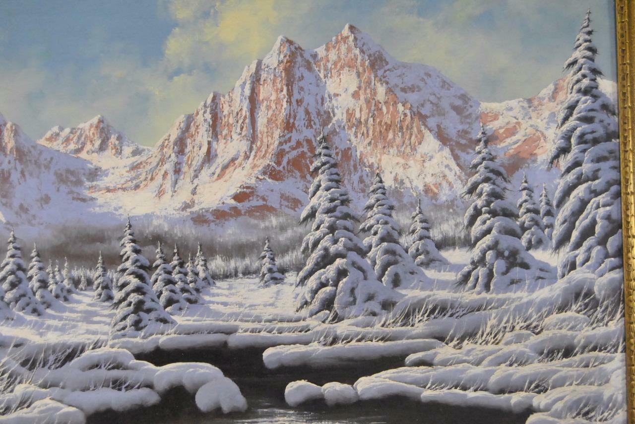 Miklos Neogrady Original Oil Painting On Canvas Of