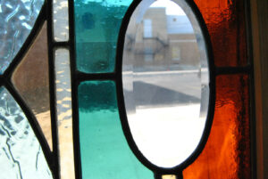 Victorian-Stained-and-Beveled-Leaded-Glass-Window-in-Aqua-and-Rootbeer-192118116443-7