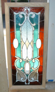 Victorian-Stained-and-Beveled-Leaded-Glass-Window-in-Aqua-and-Rootbeer-192118116443-8