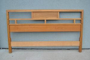 Baker-Full-Size-Mid-Century-Cherry-and-Maple-Headboard-in-Light-Finish-261469953504-2
