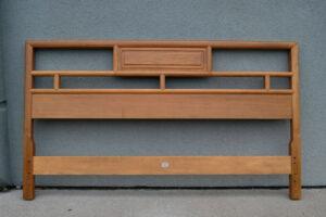 Baker-Full-Size-Mid-Century-Cherry-and-Maple-Headboard-in-Light-Finish-261469953504