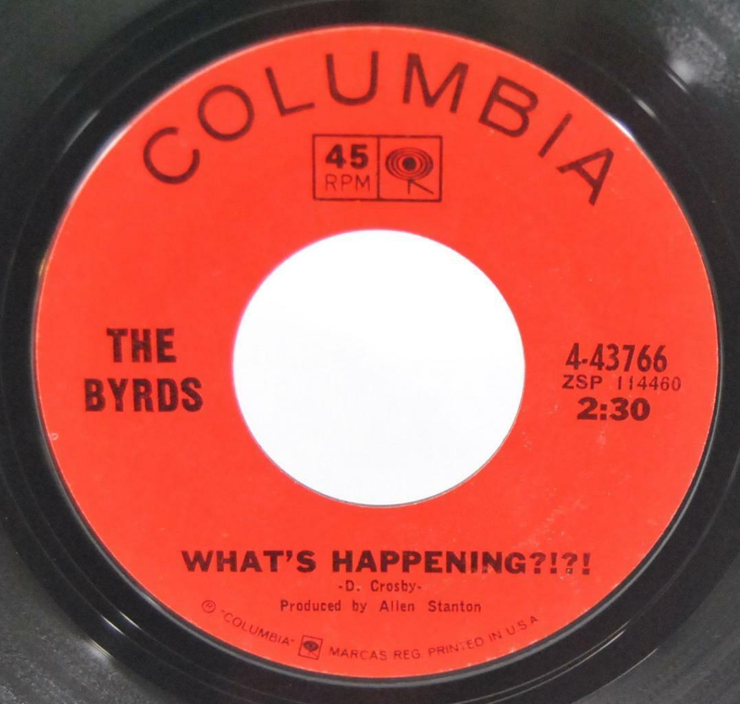 Byrds Mr Spaceman Whats Happening