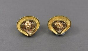14K-Yellow-Gold-And-Diamond-Pierced-Earrings-50ct-Weight-192337704695-2