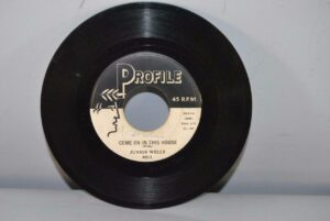 BLUES-45RPM-JUNIOR-WELLS-LITTLE-BY-LITTLE-COME-ON-IN-THIS-HOUSE-262603078995