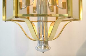 BRASS-CHROME-6-PANEL-12-LIGHT-CHANDELIER-LIGHT-FIXTURE-BY-FREDERICK-RAYMOND-262064052595-8