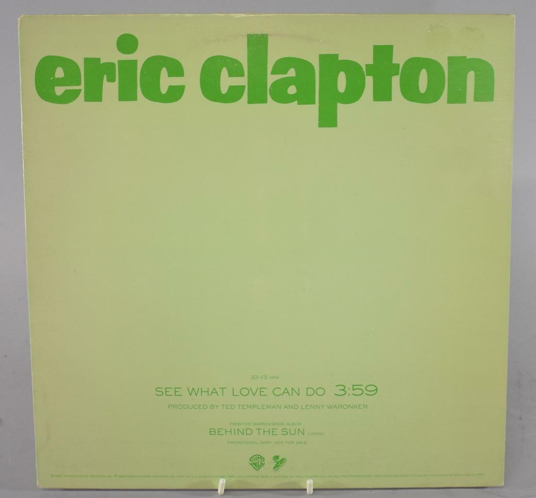 Mint Eric Clapton See What Love Can Do 12 Quot Promo From