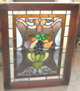 PAIR-OF-AMERICAN-STAINED-GLASS-WINDOWS-WITH-FRUIT-BASKET-DETAIL-1910-191908833355-4
