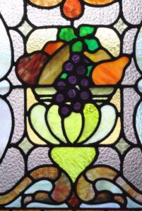 PAIR-OF-AMERICAN-STAINED-GLASS-WINDOWS-WITH-FRUIT-BASKET-DETAIL-1910-191908833355-5