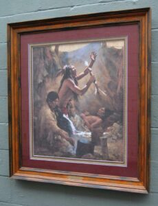 Limited-Edition-Signed-Print-by-Howard-Terpning-Medicine-Man-of-the-Cheyenne-263389352516