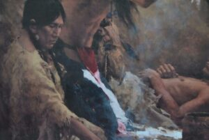 Limited-Edition-Signed-Print-by-Howard-Terpning-Medicine-Man-of-the-Cheyenne-263389352516-4