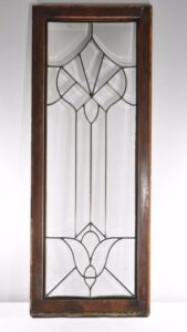 ANTIQUE-LARGE-BEVELED-CLEAR-GLASS-WINDOW-192247211357