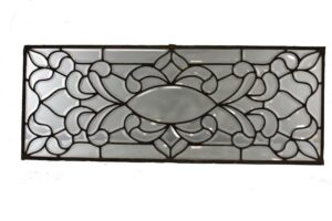 ANTIQUE-BEVELED-GLASS-TRANSOM-WINDOW-HORIZONTAL-OR-VERTICAL-CIRCA-1910-262803573928