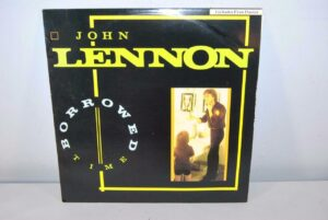 John-Lennon-Borrowed-Time-12-EP-w-Poster-Near-Mint-1984-Polygram-701-191817234168