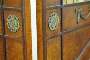 Regency-Style-Burl-Wood-Four-Panel-Screen-by-Mario-Buatta-for-Widdicomb-192178600259-4