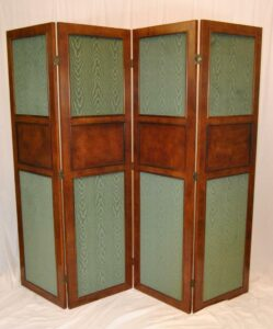 Regency-Style-Burl-Wood-Four-Panel-Screen-by-Mario-Buatta-for-Widdicomb-192178600259-6