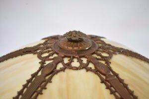Antique-Caramel-Bent-Slag-Glass-Panel-Table-By-Miller-242-263389311061-4