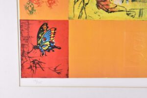 LIMITED-EDITION-SIGNED-NUMBERED-PRINT-BY-HOI-13325-BUTTERFLIES-GRASSHOPPER-192105162291-2