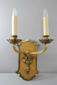 PAIR-OF-LARGE-SCALE-GOTHIC-REVIVAL-2-SOCKET-WALL-SCONCES-191751330641-3