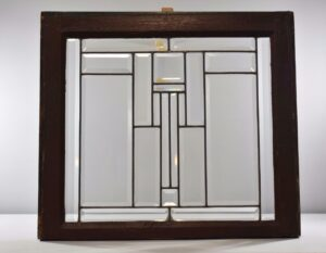 ARTS-CRAFTS-CLEAR-BEVELED-WINDOWS-FRANK-LLOYD-WRIGHT-STYLE-2-AVAILABLE-192277539712
