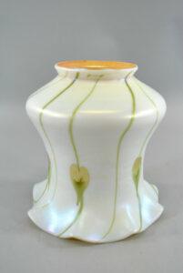 Opalescent-Art-Glass-Shade-with-Aurene-Interior-Ruffled-Edge-and-Heart-Design-191093537142