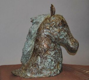 Large-Mid-Century-Modern-Cast-Bronze-Horse-Head-Sculpture-with-Oxidized-Mane-191845468133