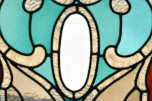 Victorian-Stained-and-Beveled-Leaded-Glass-Window-in-Aqua-and-Rootbeer-192118116443-4