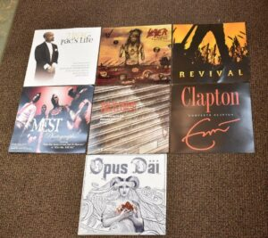 7-Promotional-Record-Posters-Eric-Clapton-2-Pac-John-Fogerty-Slayer-Opus-Dai-192272069764