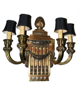 Caldwell-Bronze-Neo-Classical-Style-Four-Armed-Electric-Wall-Sconce-262764111044