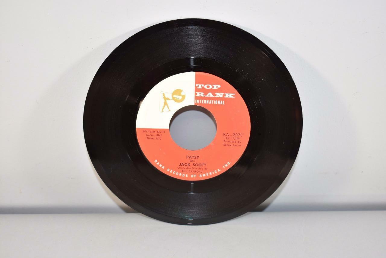 Jack Scott 45 RPM R&R M- Top Rank International Records Patsy