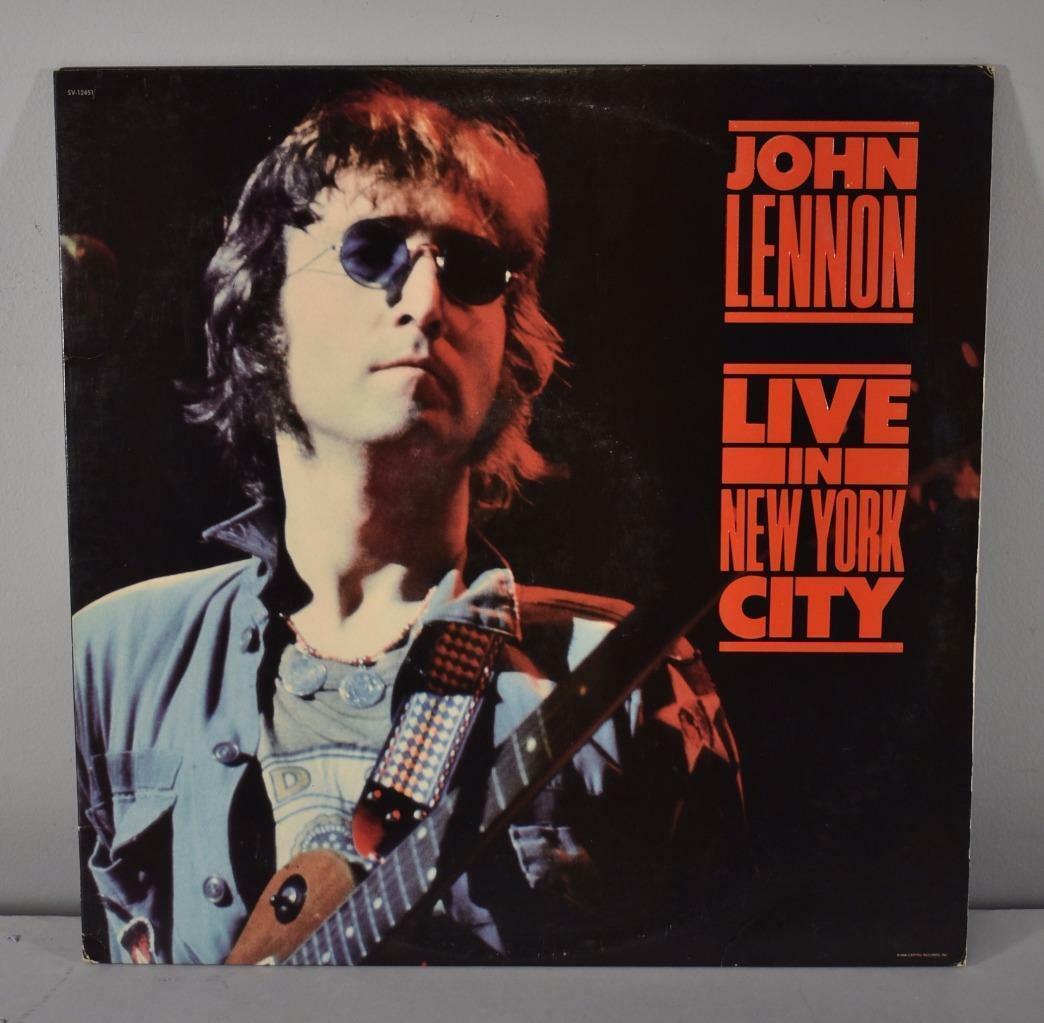 John Lennon Rock Live In New York City Produced By Yoko Ono Leffler S Antiques