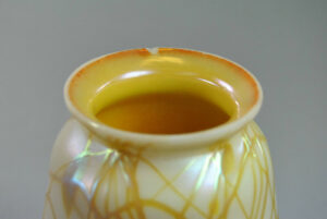 Opalescent-Art-Glass-Shade-with-Aurene-Interior-Applied-Gold-Glass-Threading-261417856664-3