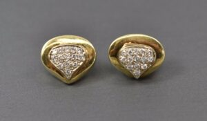 14K-Yellow-Gold-And-Diamond-Pierced-Earrings-50ct-Weight-192337704695