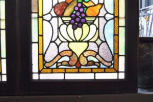 PAIR-OF-AMERICAN-STAINED-GLASS-WINDOWS-WITH-FRUIT-BASKET-DETAIL-1910-191908833355-10