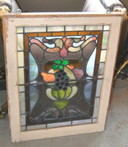 PAIR-OF-AMERICAN-STAINED-GLASS-WINDOWS-WITH-FRUIT-BASKET-DETAIL-1910-191908833355-3