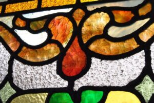 PAIR-OF-AMERICAN-STAINED-GLASS-WINDOWS-WITH-FRUIT-BASKET-DETAIL-1910-191908833355-8