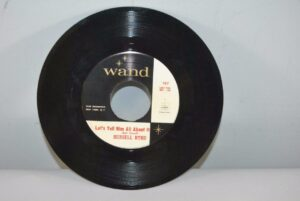 45-RPM-Russell-Byrd-Wand-Record-Lets-Tell-Him-All-About-It-New-York-Rock-VG-262694949426
