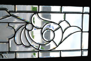Antique-Fully-Beveled-Glass-Transom-Window-with-827-Number-in-Center-63-191796742186-6