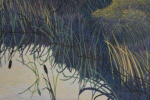 Gordon-Mortensen-Signed-Limited-23130-Woodcut-Reduction-October-Sunset-1981-192419728296-2