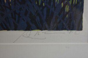 Gordon-Mortensen-Signed-Limited-23130-Woodcut-Reduction-October-Sunset-1981-192419728296-3