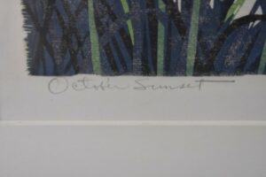 Gordon-Mortensen-Signed-Limited-23130-Woodcut-Reduction-October-Sunset-1981-192419728296-5