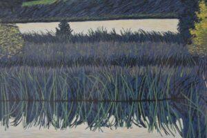Gordon-Mortensen-Signed-Limited-23130-Woodcut-Reduction-October-Sunset-1981-192419728296-6