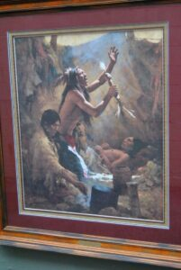 Limited-Edition-Signed-Print-by-Howard-Terpning-Medicine-Man-of-the-Cheyenne-263389352516-2