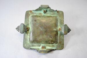 Antique-Victorian-Bronze-Inkwell-with-Verdigris-Patina-262726003847-3