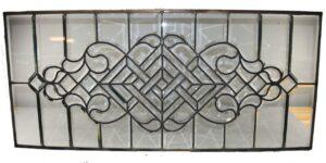 Antique-Beveled-Glass-Transom-Window-Circa-1920s-192076736118