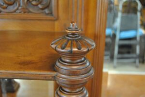 Antique-Renaissance-Revival-Walnut-Buffet-Carved-Details-Beveled-Glass-1890s-263359464358-9