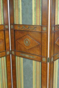 Regency-Style-Burl-Wood-Four-Panel-Screen-by-Mario-Buatta-for-Widdicomb-192178600259-2